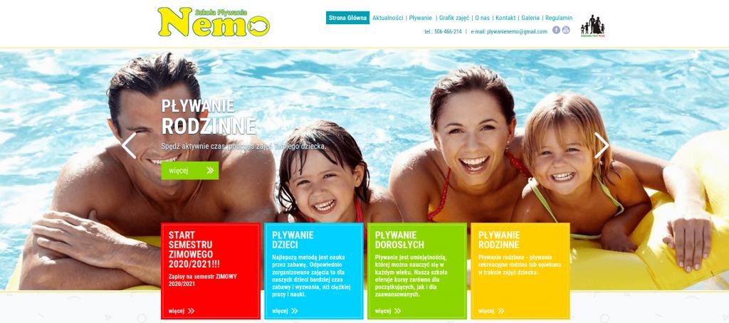 Nauka pływania - wyjście na basen - ze szkołą pływania NEMO