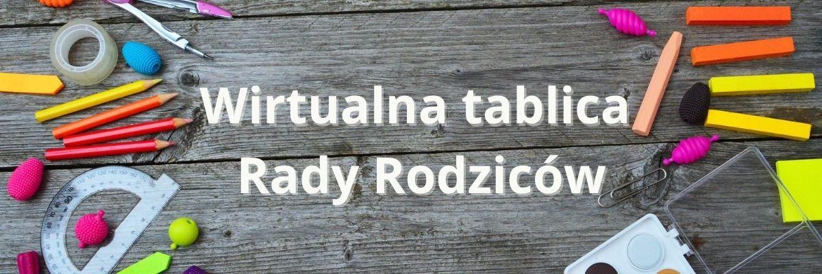 Wirtualna tablica Rady Rodziców