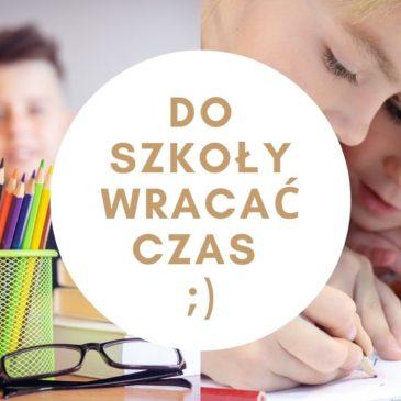 Rozpoczynamy rok szkolny 2021-2022
